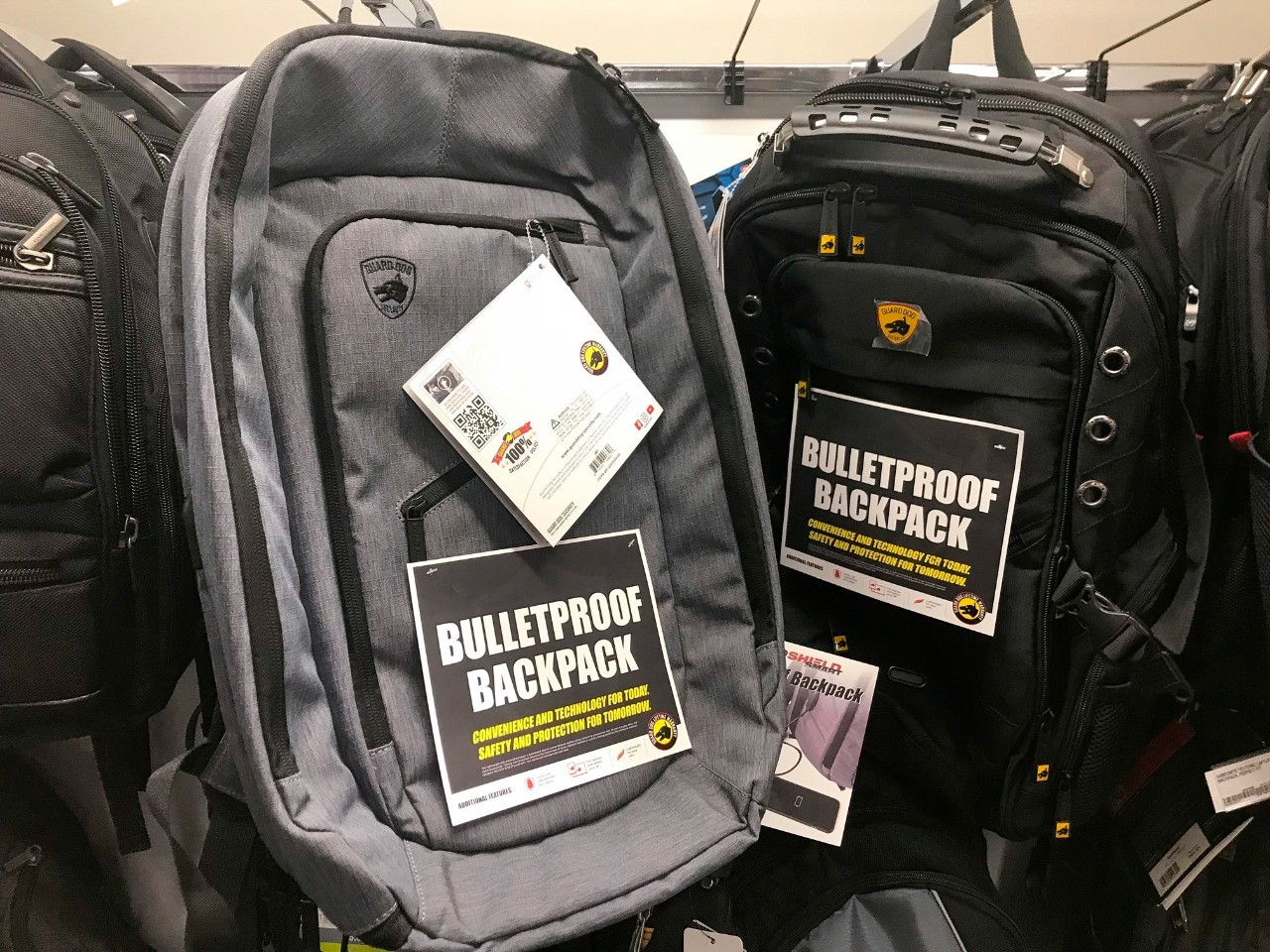 08f888915c8a Mass shootings give rise to bullet-resistant backpacks   CP24.com
