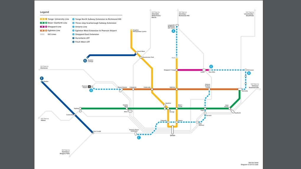 Audiosorce Subway Map.Staff Say City Could Help Pay For Reimagined Relief Line But Only