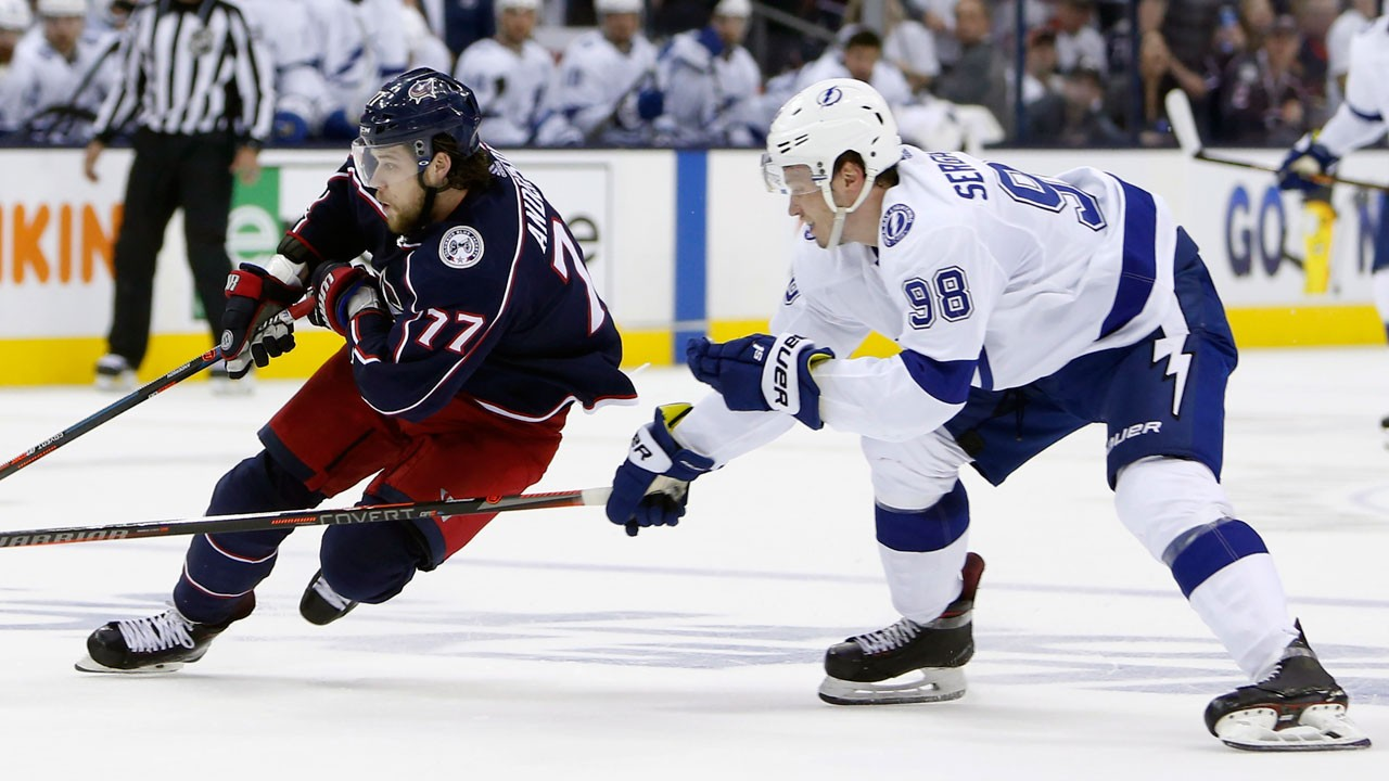 NHL-best Lightning ousted by Columbus in playoff series