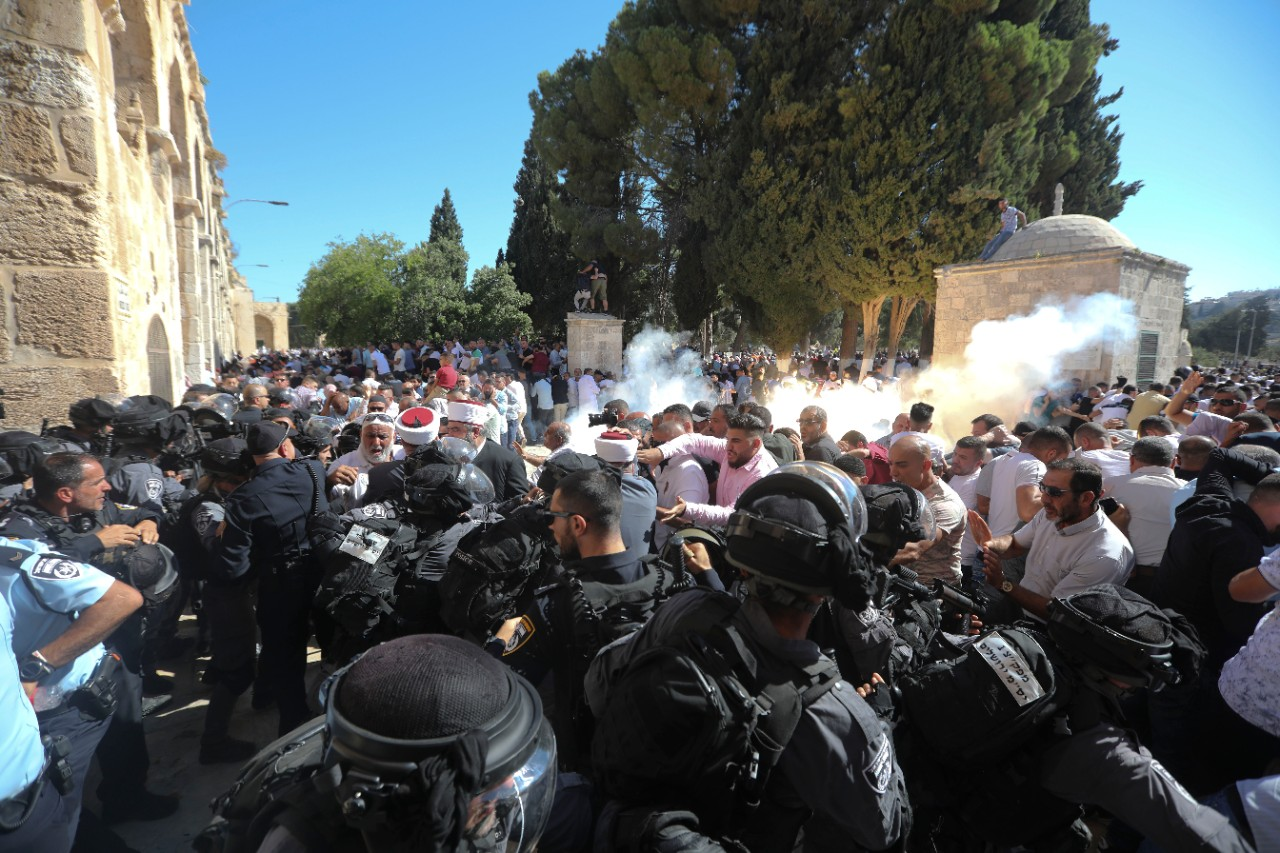 Clashes break out at Jerusalem holy site | CP24 com