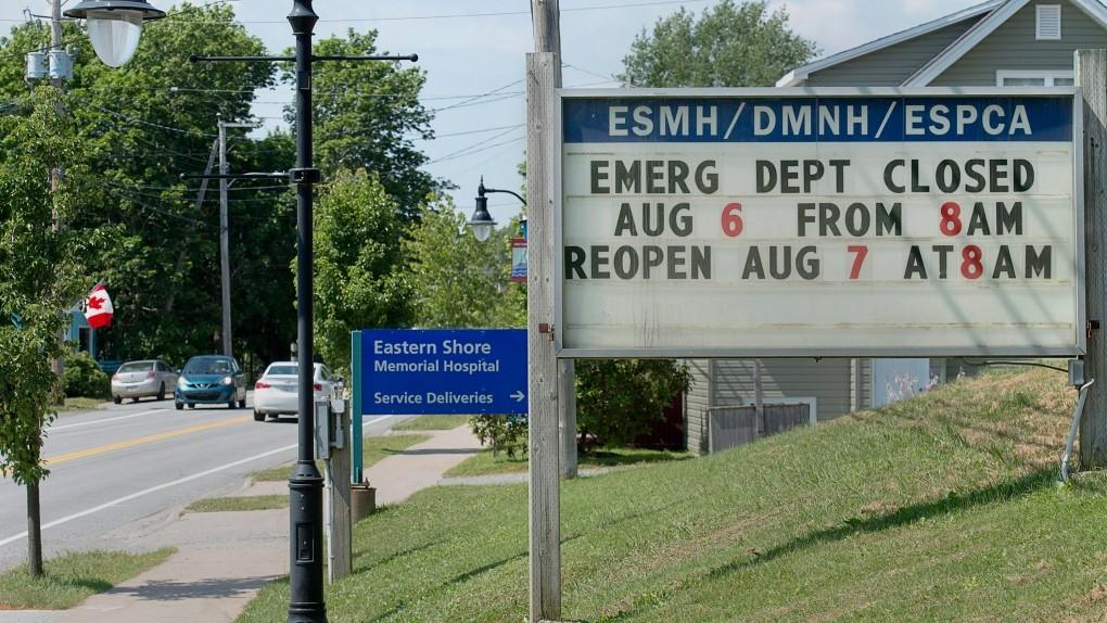Nova Scotia says hospital emergency departments closing more