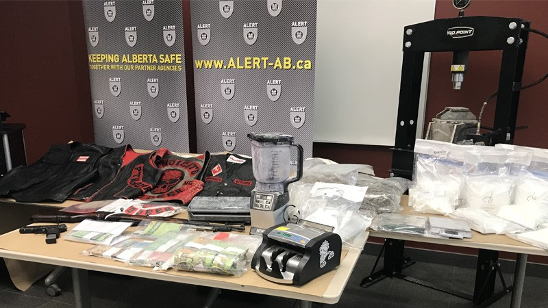 Members of Hells Angels support gang charged in Red Deer