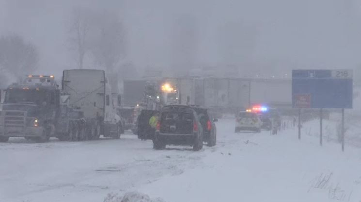 Man who died in pile-up on 401 near Ingersoll identified | CTV News