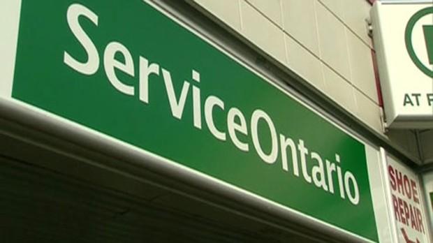 service ontario london