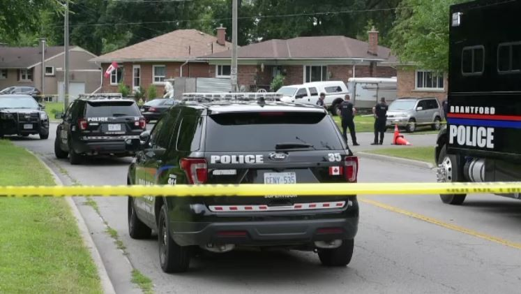 Two people shot dead at home in Brantford, Ont  | CTV News