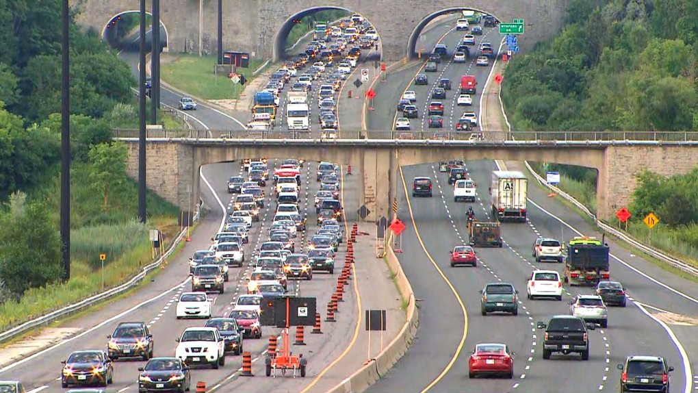 Part of the DVP will be closed this weekend | CTV News Toronto