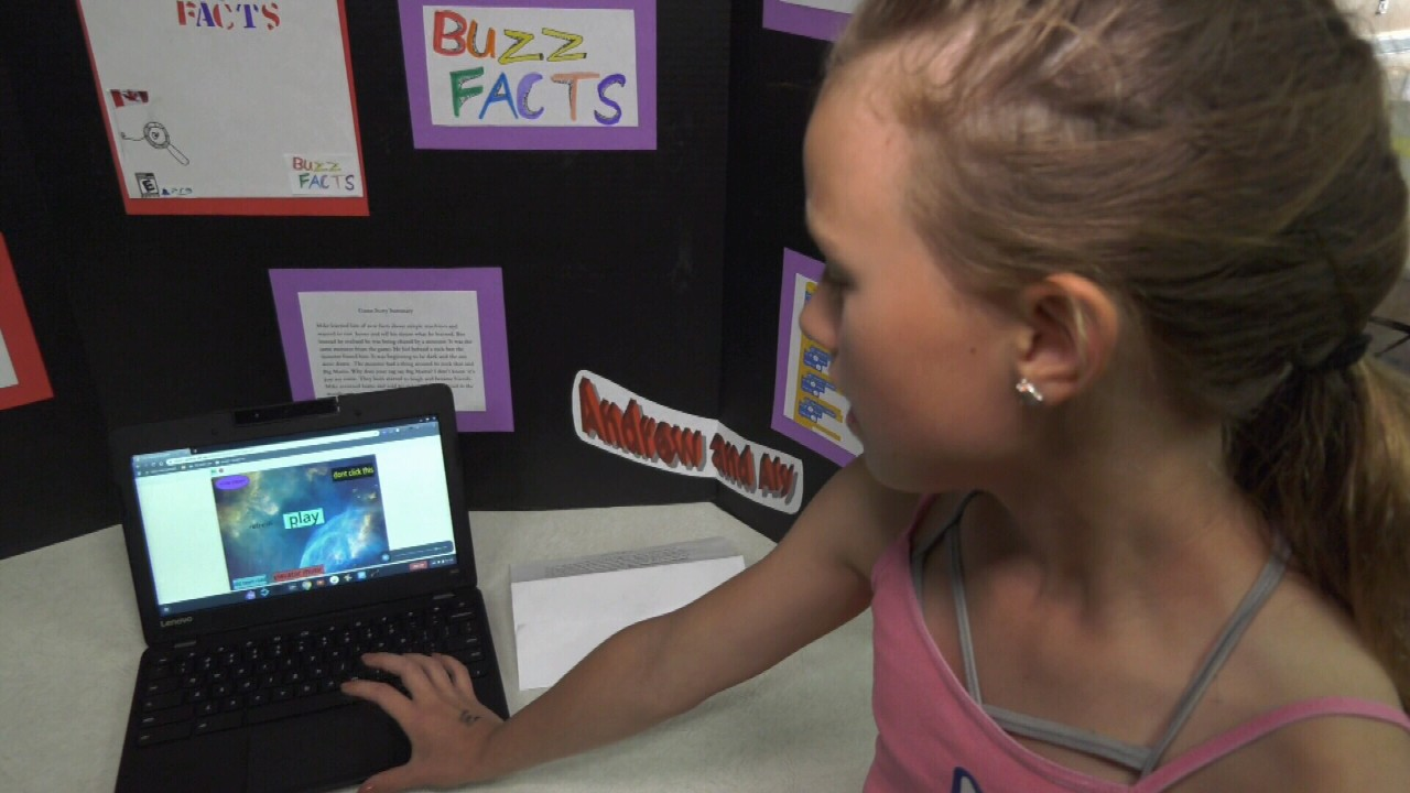 Victoria students learn to create video games at coding
