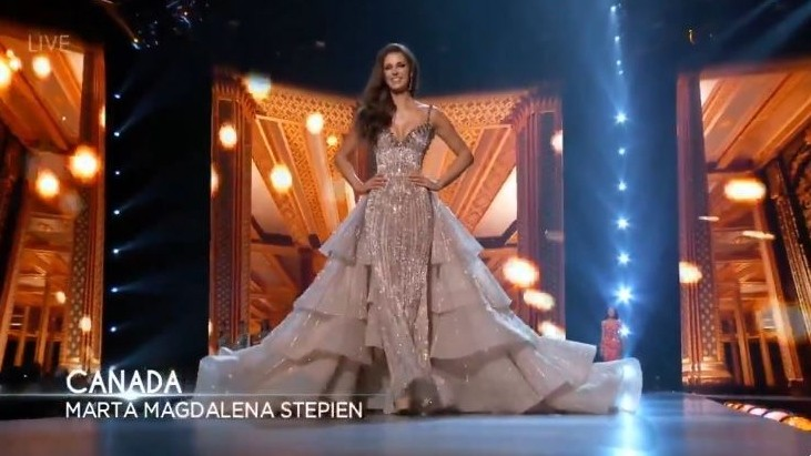 Windsor S Marta Stepien Makes Top 10 At Miss Universe Pageant Ctv News