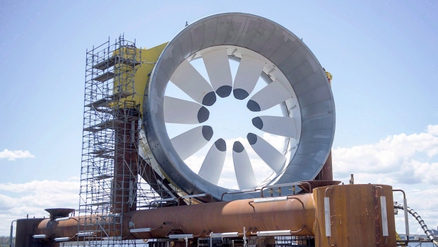 Ottawa commits $30 million for new tidal power project in Bay of
