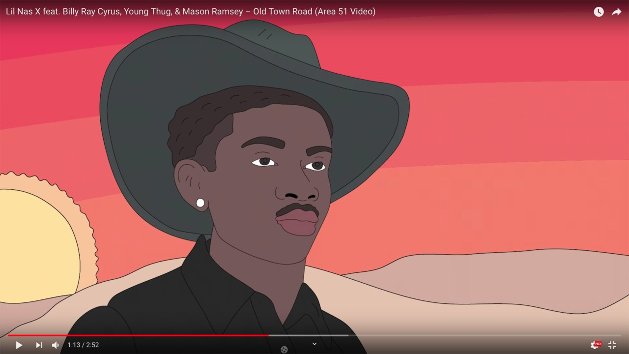 Lil Nas X releases an animated music video for 'Old Town Road