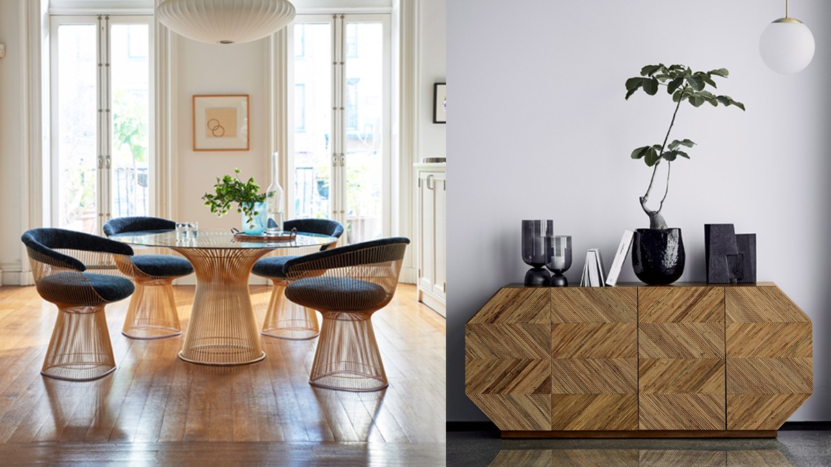 What says modern now in decor some trends for spring 2019