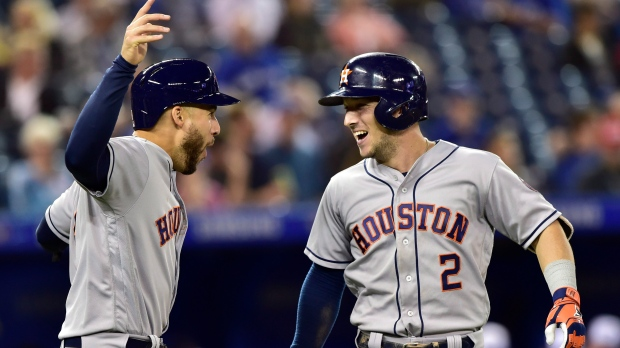 Image result for houston astros vs toronto blue jays 2018