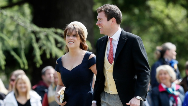 Princess Eugenie Wedding.Royal Wedding Redux This Time It S Princess Eugenie Ctv News
