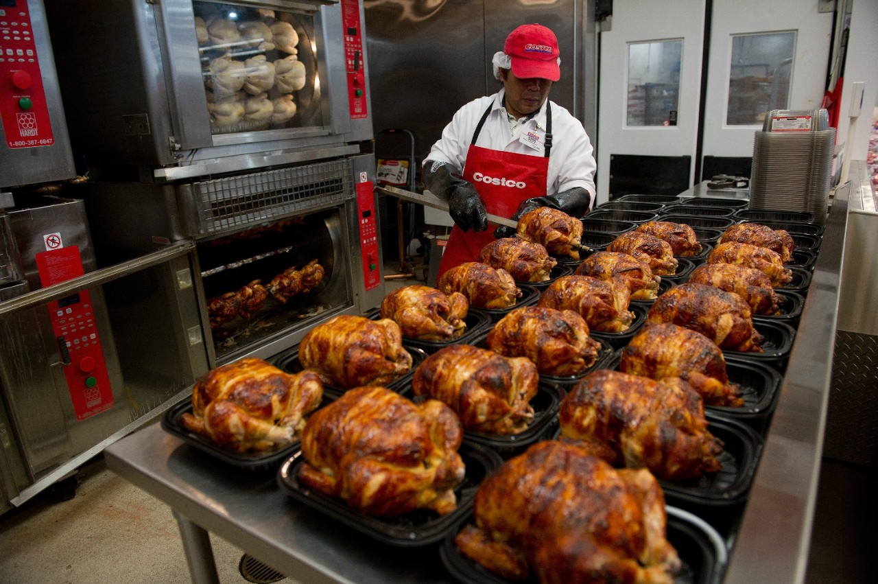 It's only US$4.99, but Costco's rotisserie chicken comes at a huge price
