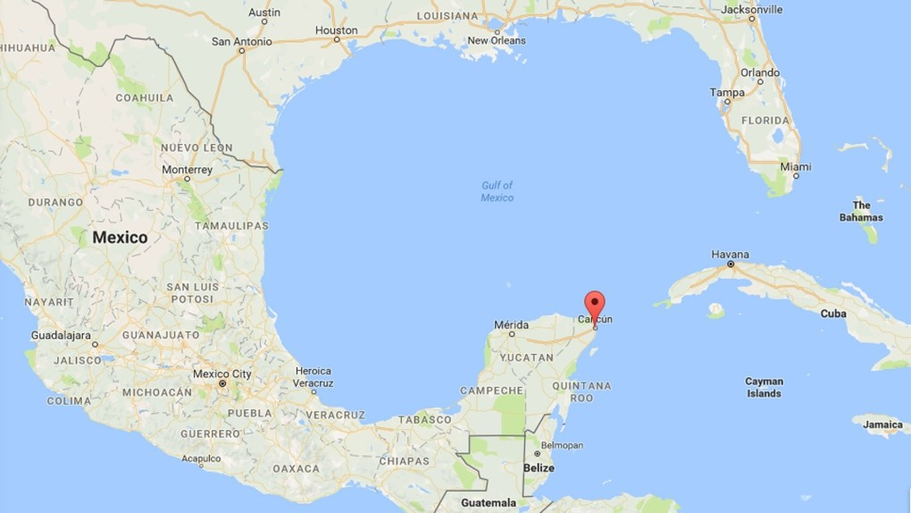 Cancun Quintana Roo Mexico Map.2 Dead In Shooting In Mexican Resort City Of Cancun Ctv News