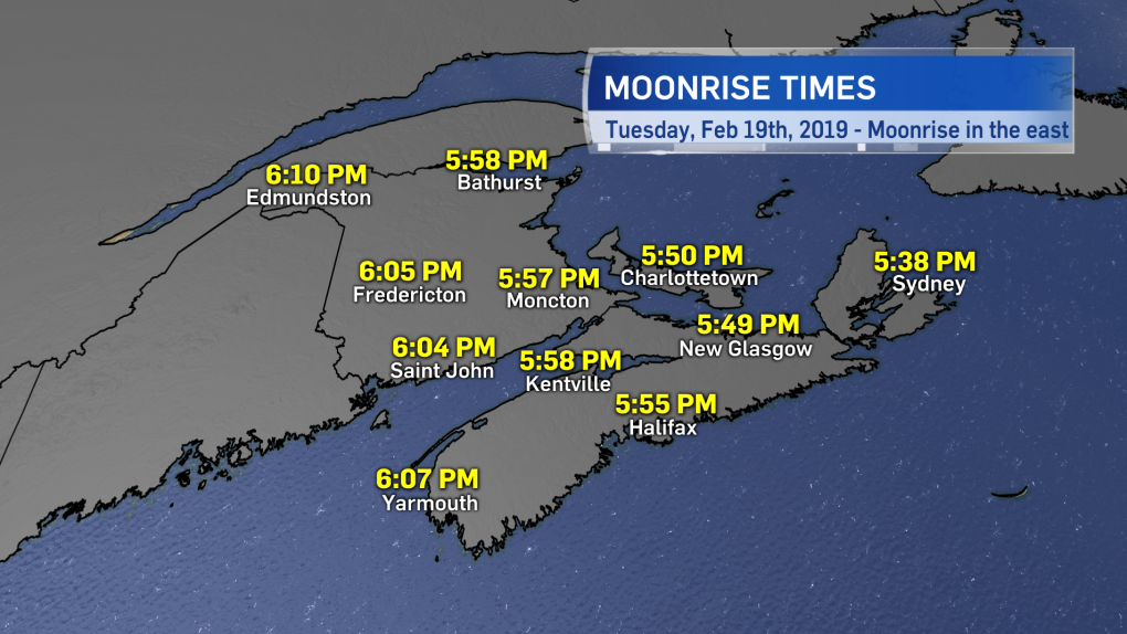 Snow supermoon to rise over the Maritimes | CTV News Atlantic