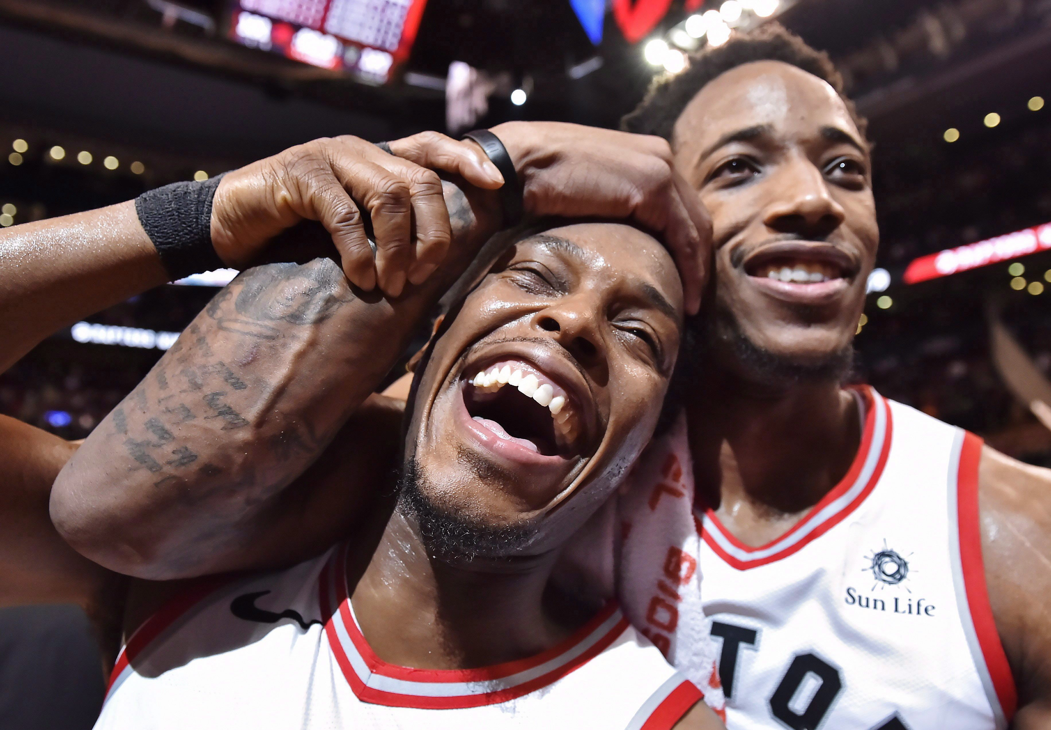 buy online 5d656 b50e8 I don't really like him:' Lowry's friendship with DeRozan ...