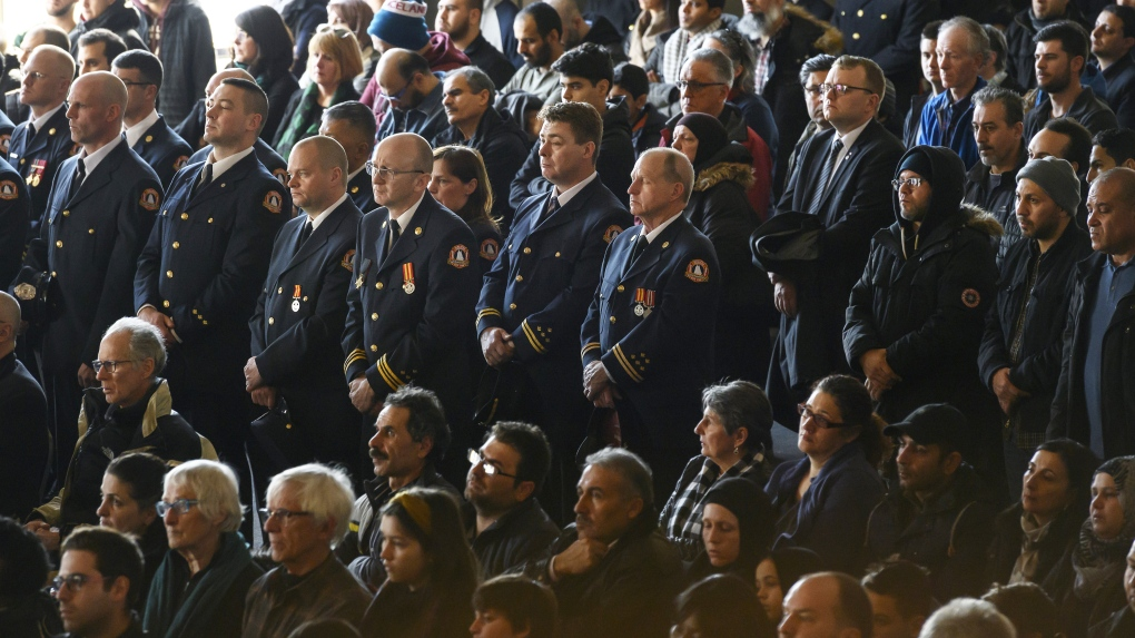A 'warm embrace' for grieving parents at funeral of seven young fire