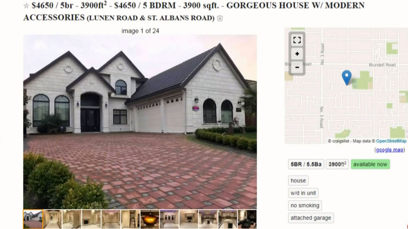 Why are hundreds of luxury Vancouver mansions being rented