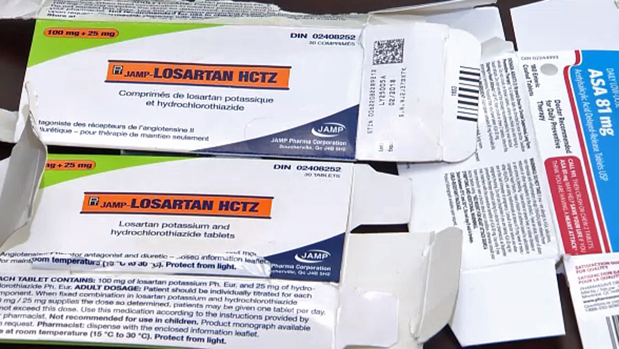 Blood pressure medications recalled over potential