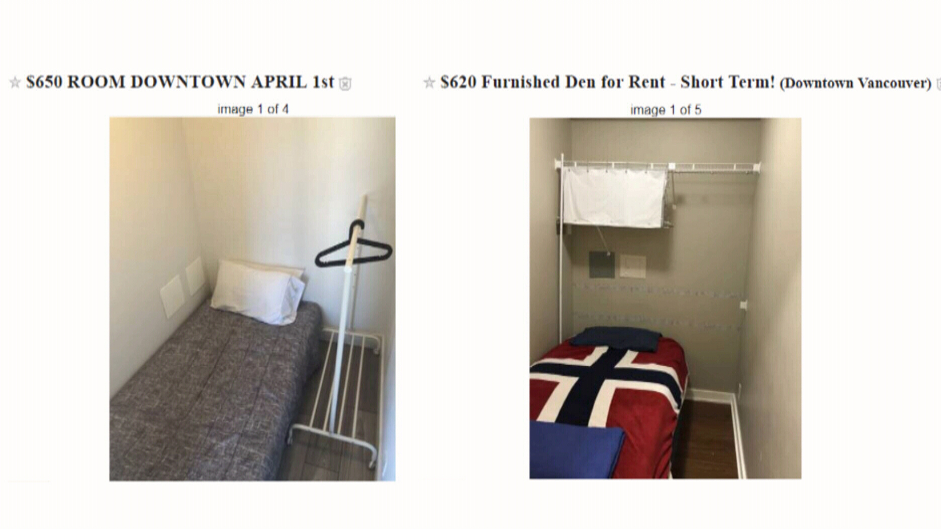 Awesome Would You Live In A Closet For Cheap Ctv News Download Free Architecture Designs Momecebritishbridgeorg
