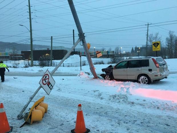 Snow causing havoc on Highway 17 | CTV News Northern Ontario