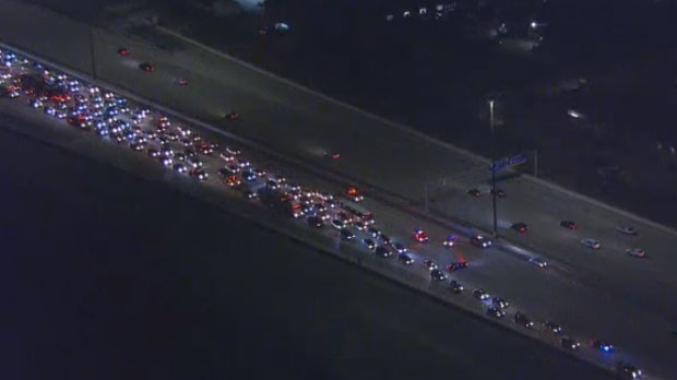 Man pronounced dead after collision on Hwy  407 near Vaughan | CTV