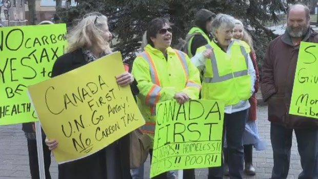 fa805627 Yellow Vest' protests held in the Maritimes | CTV News Atlantic