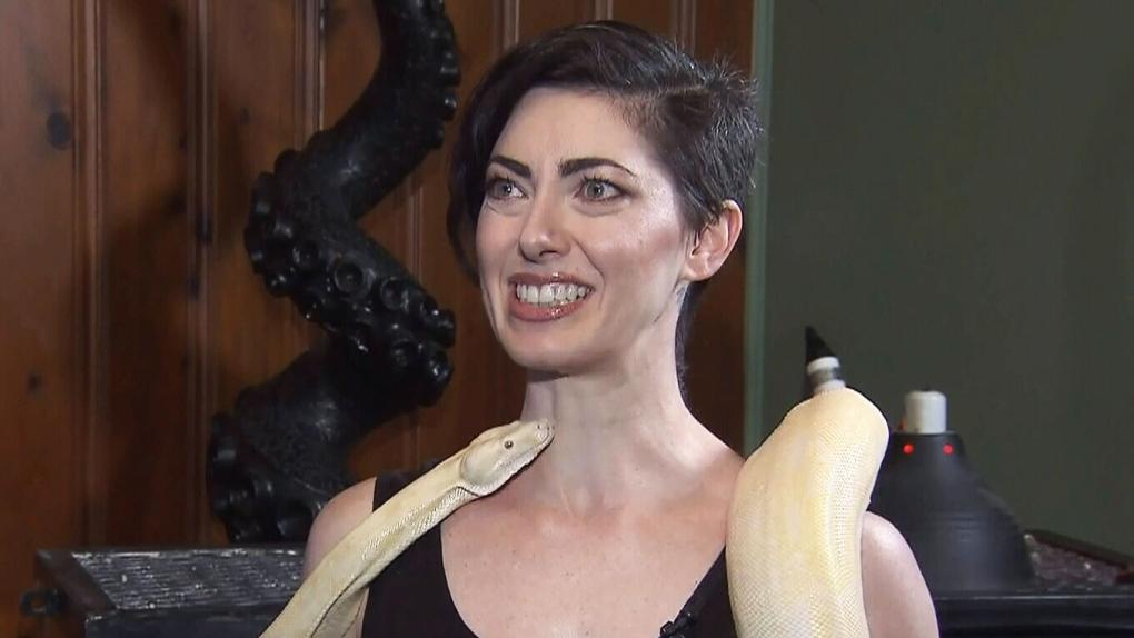 Forget Bikram Snake Yoga Is Coming To Vancouver Ctv News