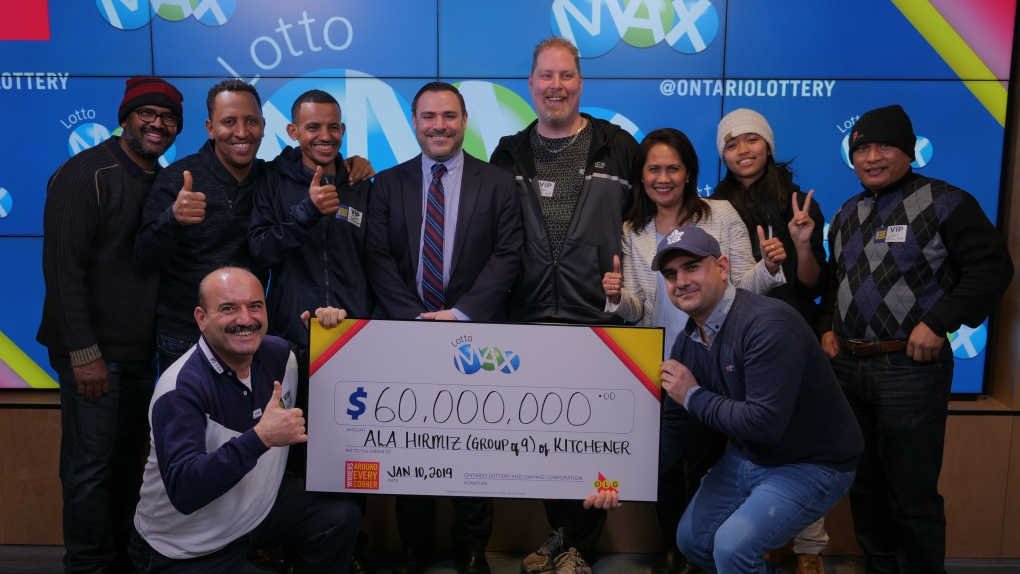9 Ont  co-workers quit jobs after winning $60M jackpot   CTV