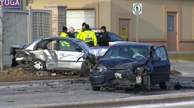 Woman, 70, dead after multi-vehicle crash in Vaughan | CTV News Toronto