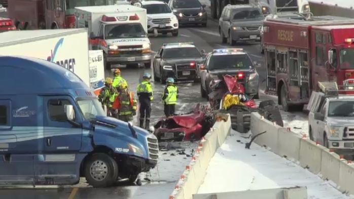 Highway 401 crash: 65-year-old man killed   CTV News Kitchener