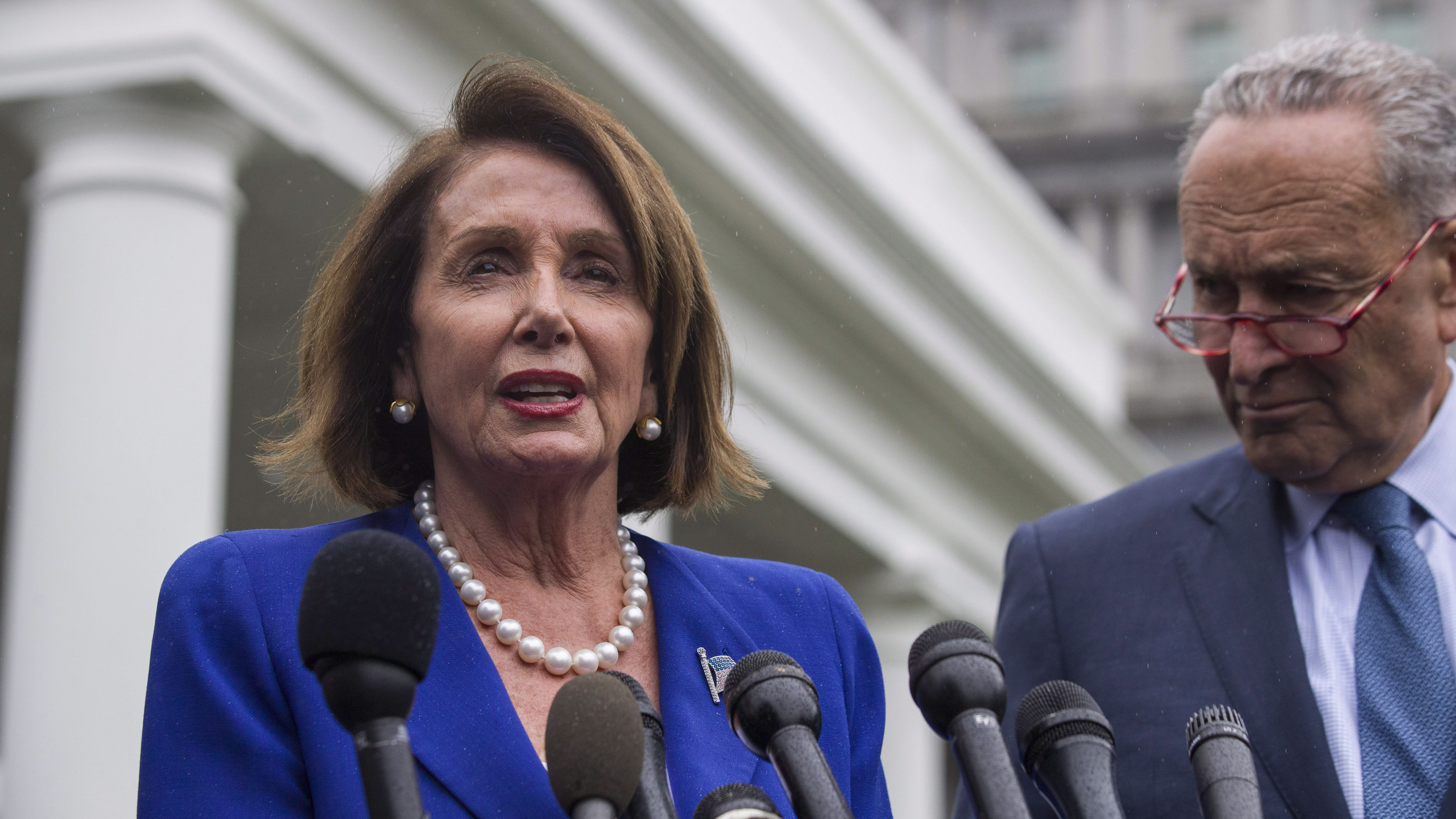 Pelosi Says Trump Had Meltdown In Meeting Over His