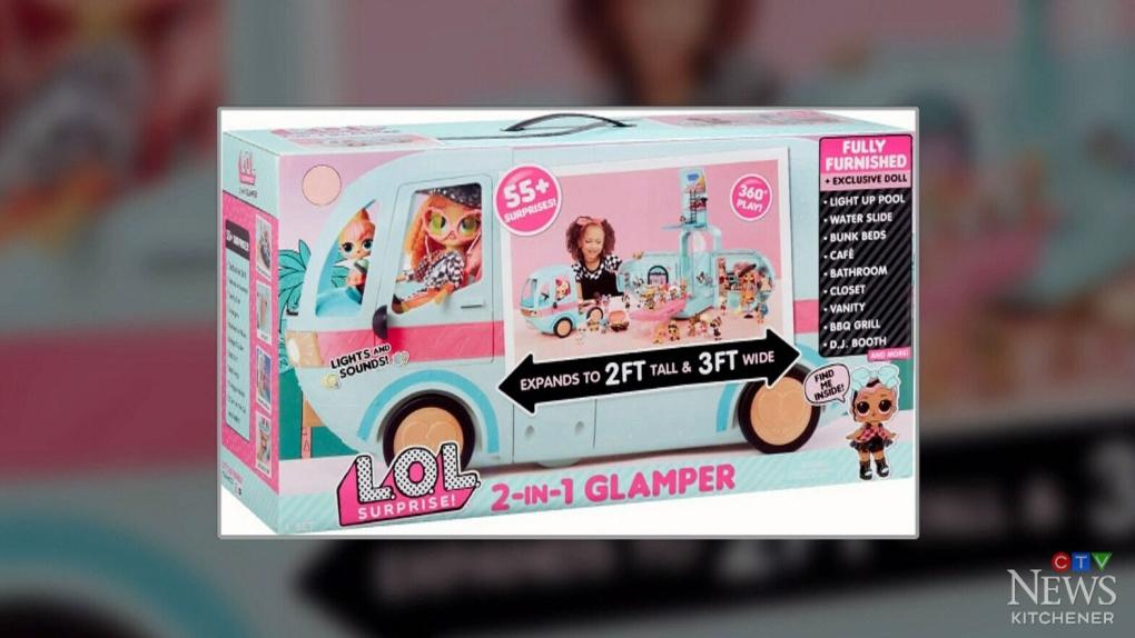 L O L Surprise 2 In 1 Glamper Van Toy Redesigned Among Safety Concerns Ctv News