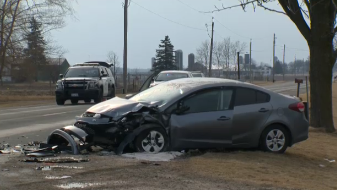 Driver airlifted, 2 others injured after serious crash near