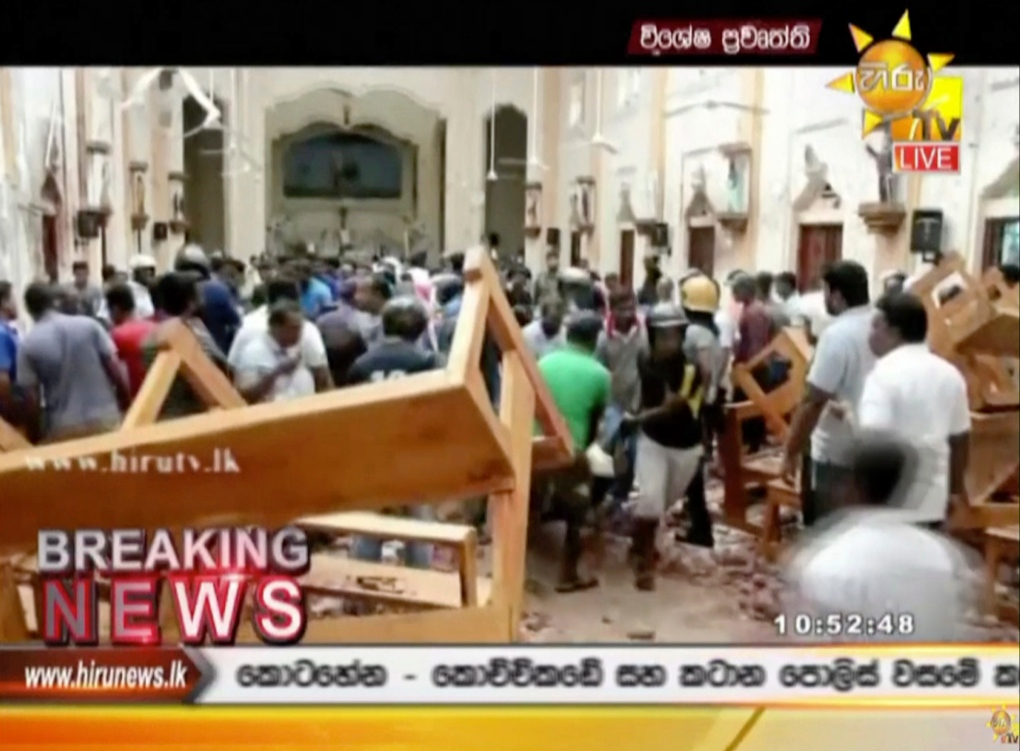 Local bishop asks for deliverance from evil after Sri Lanka
