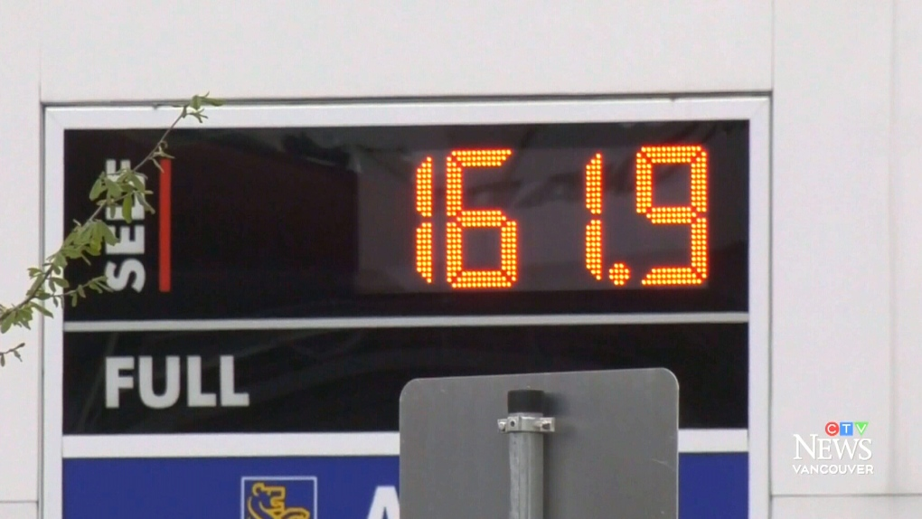 B C  government to consider 'relief' for record gas prices