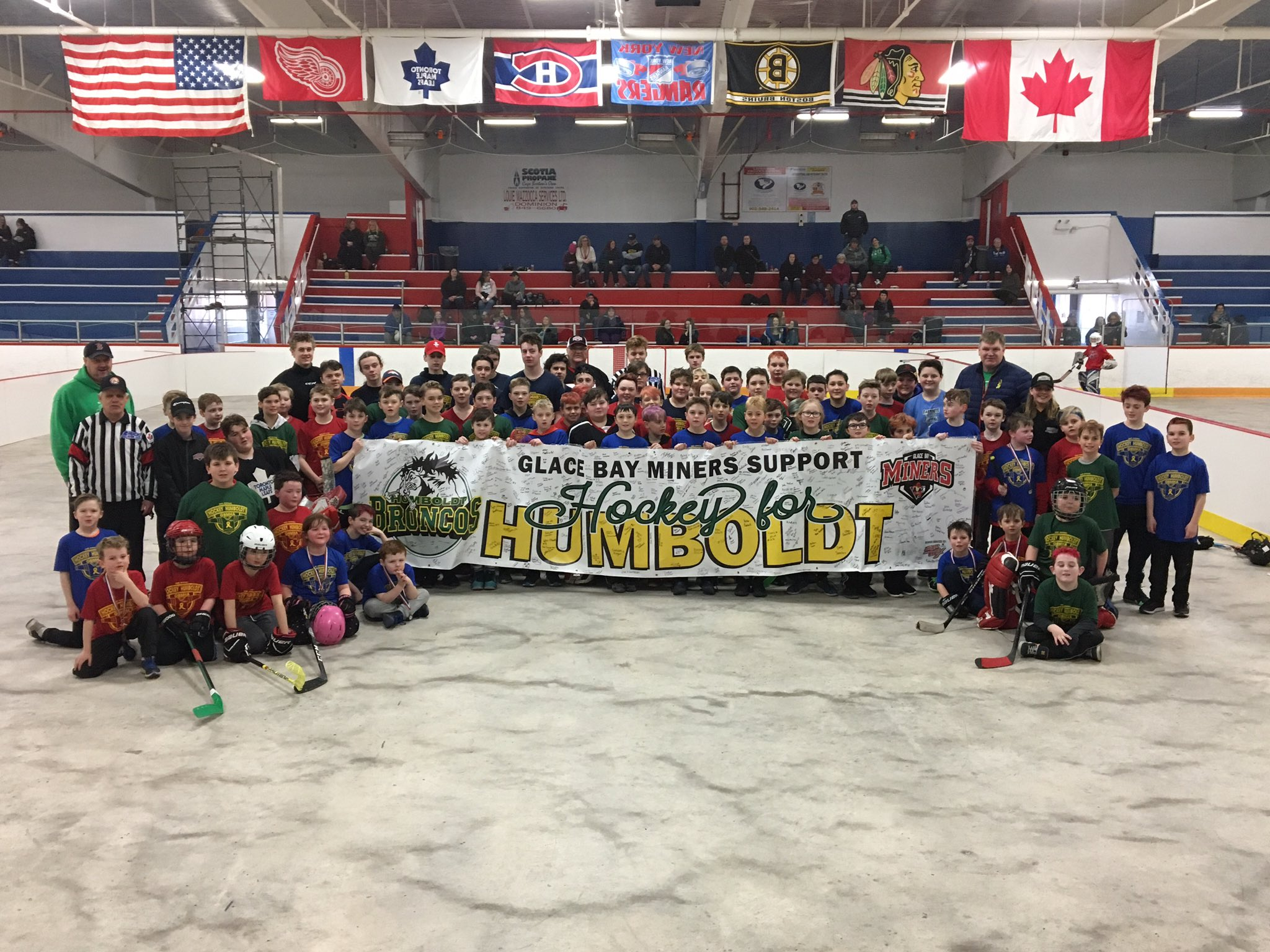 Second Annual Hockey For Humboldt Ball Hockey Tournament Draws