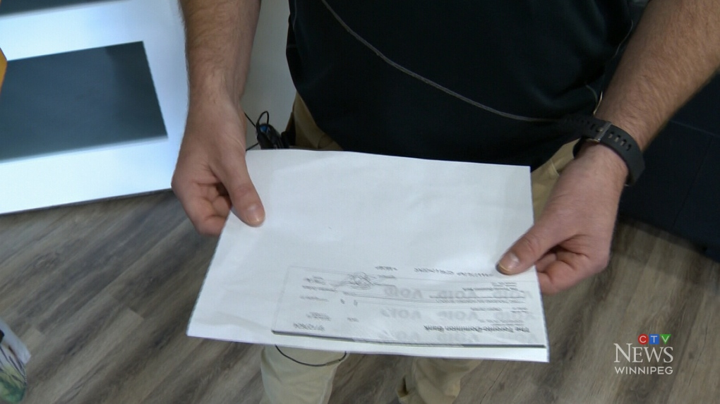 Pleasing Man Warns Of Fraudulent Cheque Dropped Off At His Door After Pdpeps Interior Chair Design Pdpepsorg