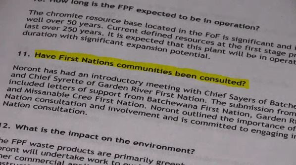 Getting support from First Nations for Soo smelter | CTV News