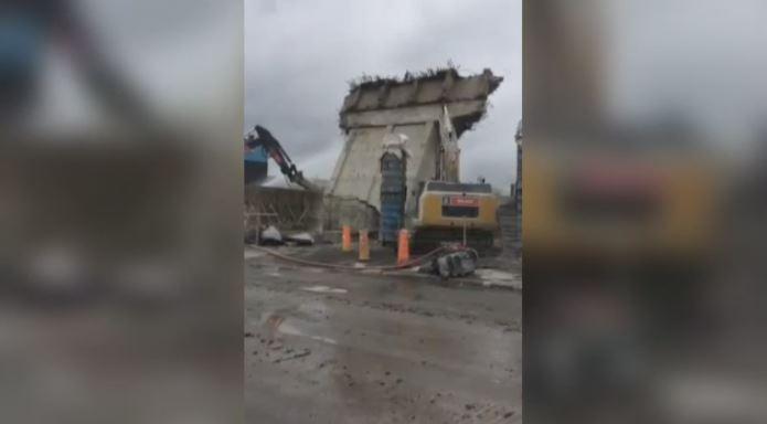 Last pillar of old Turcot Interchange torn down | CTV News Montreal