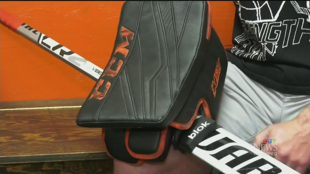 BLOK Goalie Stick Finger Protector Hockey Goal Index Finger Protection Aid