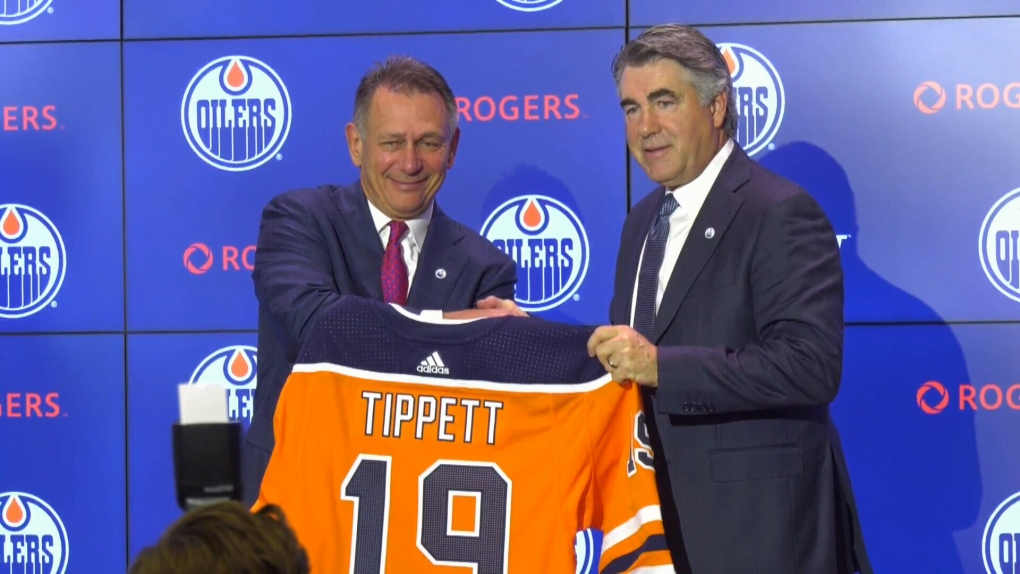 Image result for ken holland and dave tippett