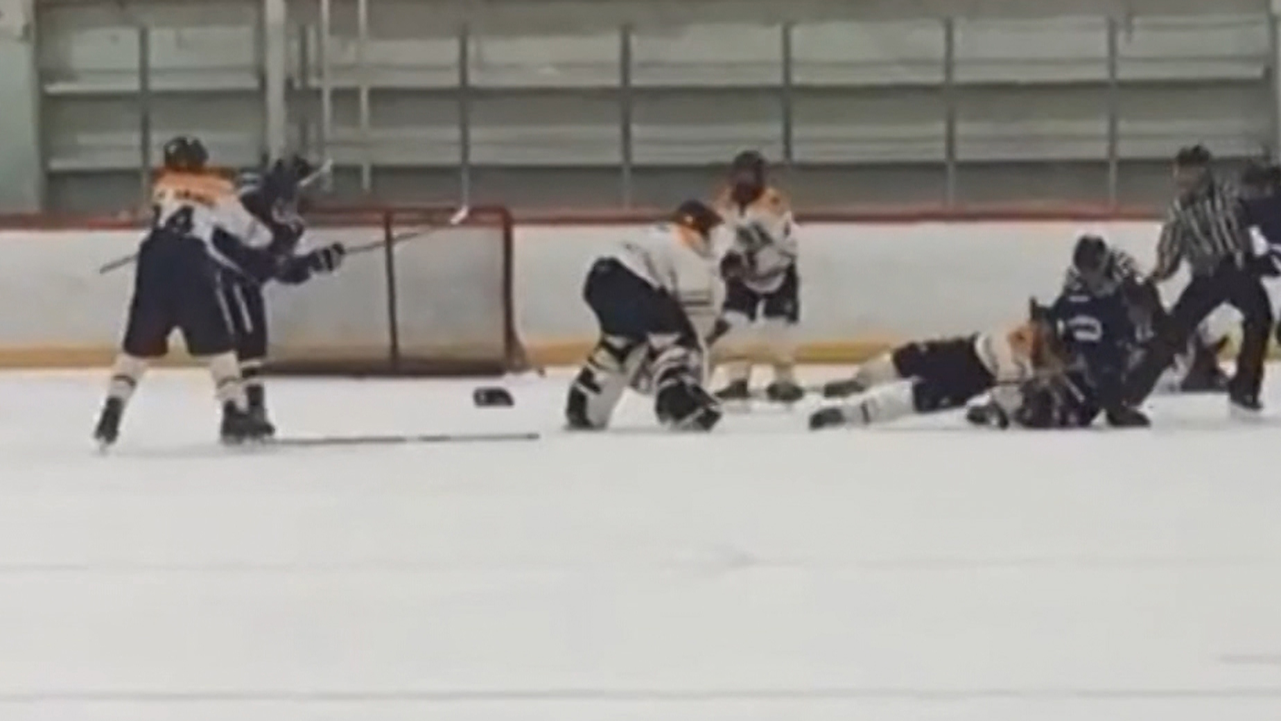 Video Shows On Ice Brawl Between Teens At Bantam Hockey Game In