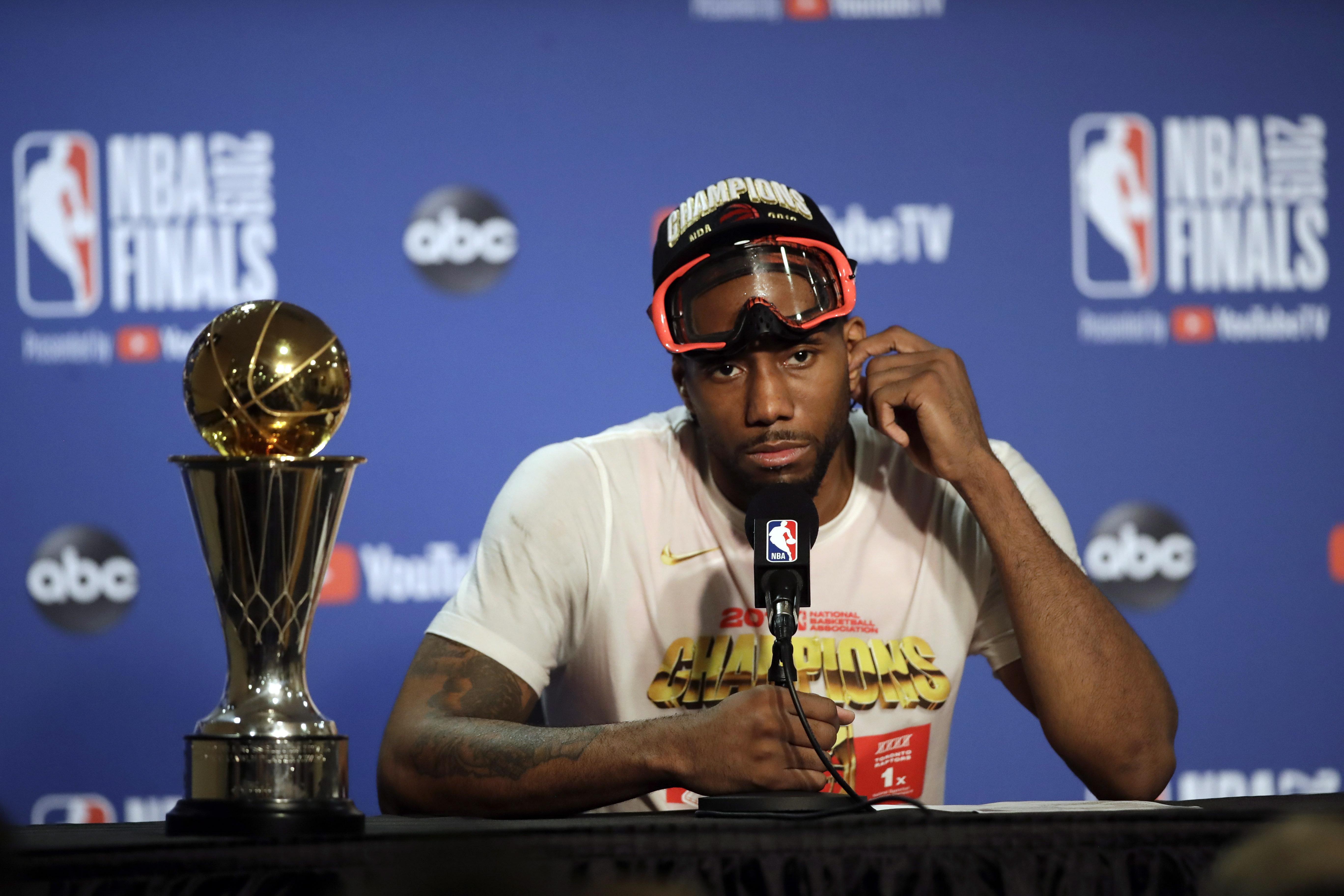 7ed56de8660 King of the North: Raptors' Kawhi Leonard named NBA Finals MVP | CTV ...