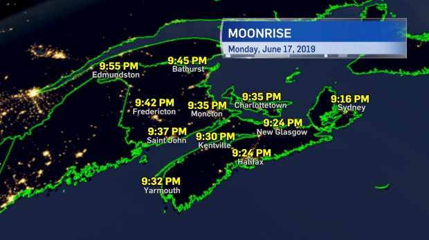 Night sky to clear in time for the Strawberry Moon | CTV News Atlantic