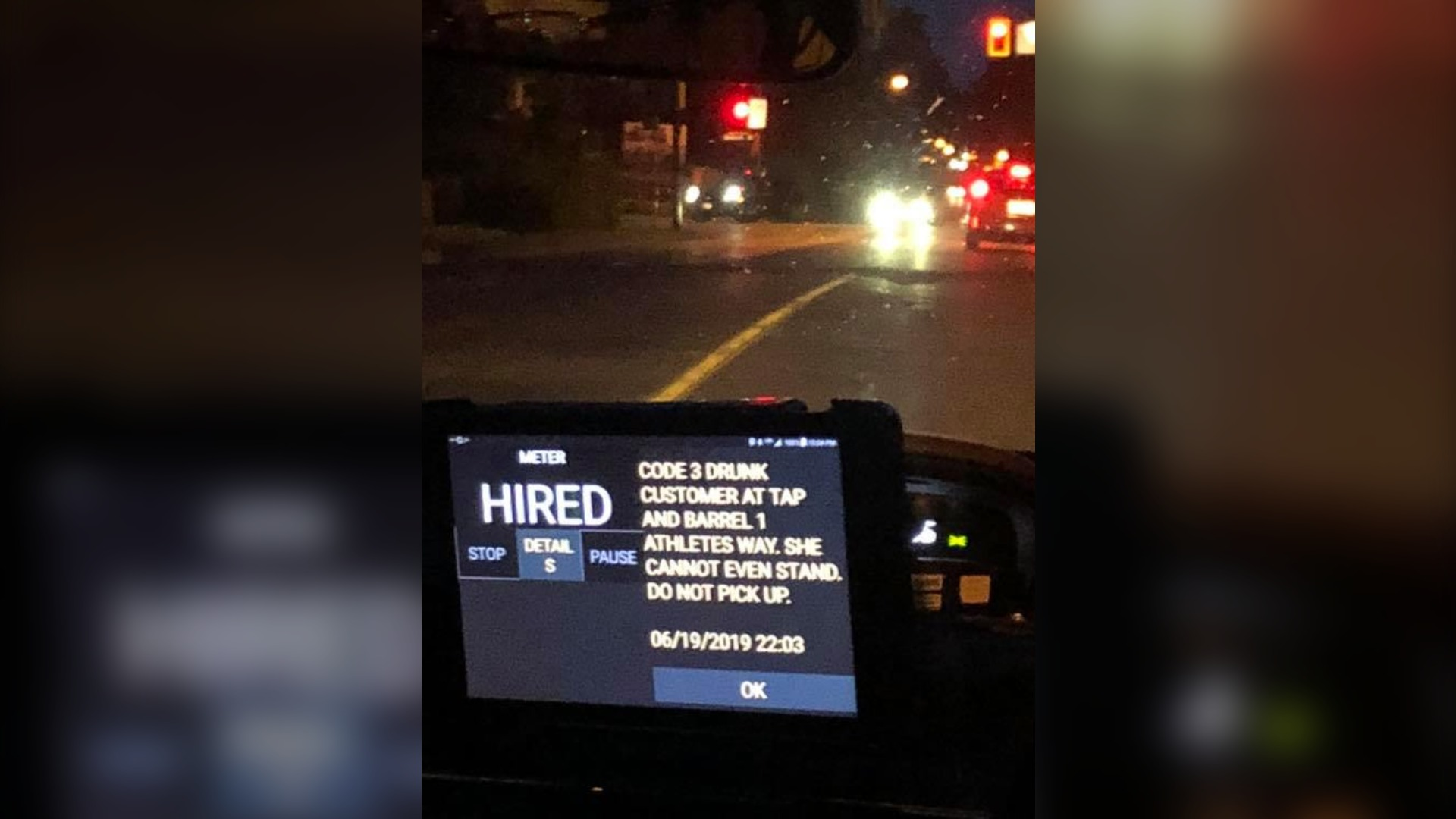 Canadian Cab Guelph >> Drunk Customer Do Not Pick Up Cab Passenger Alarmed By