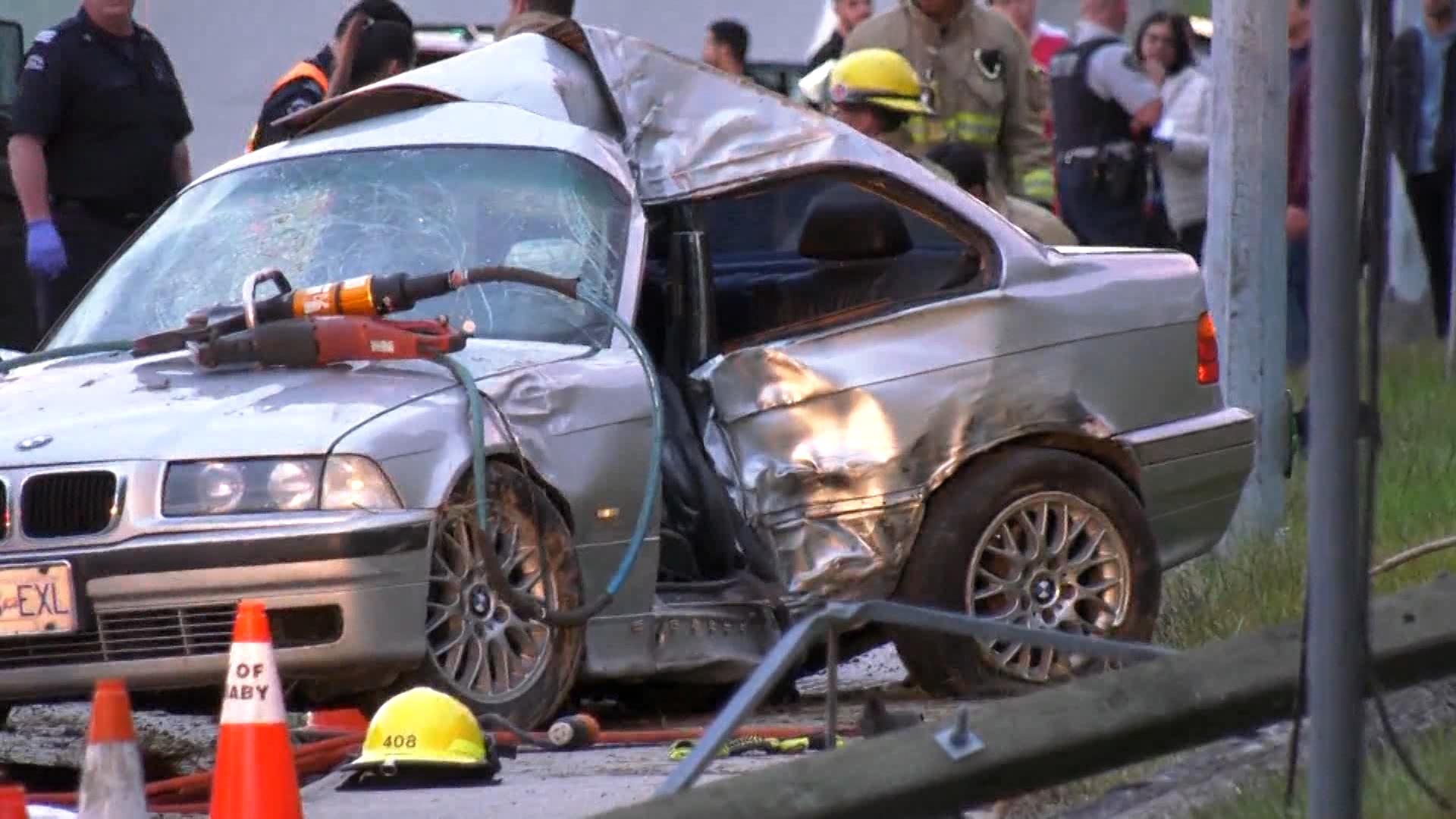 Pedestrian killed in Burnaby crash | CTV News