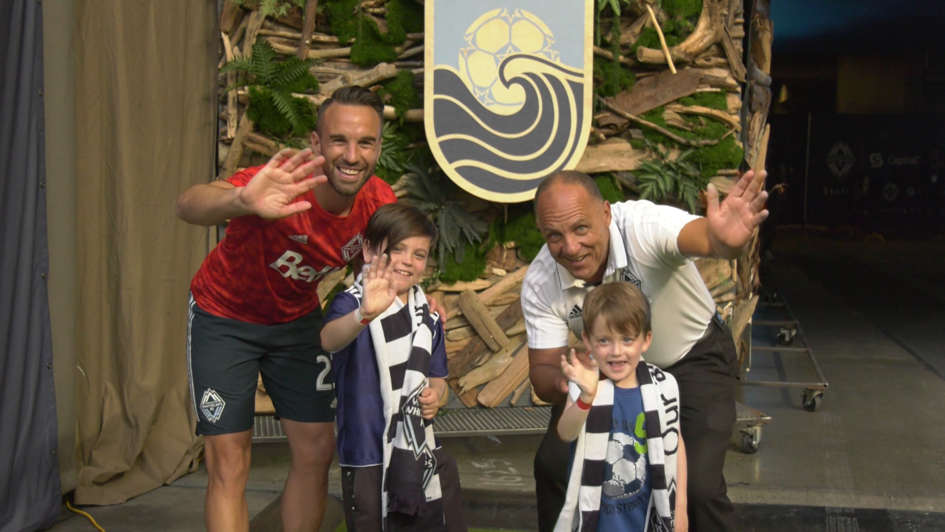 Whitecaps defender lets sick kids just be kids with