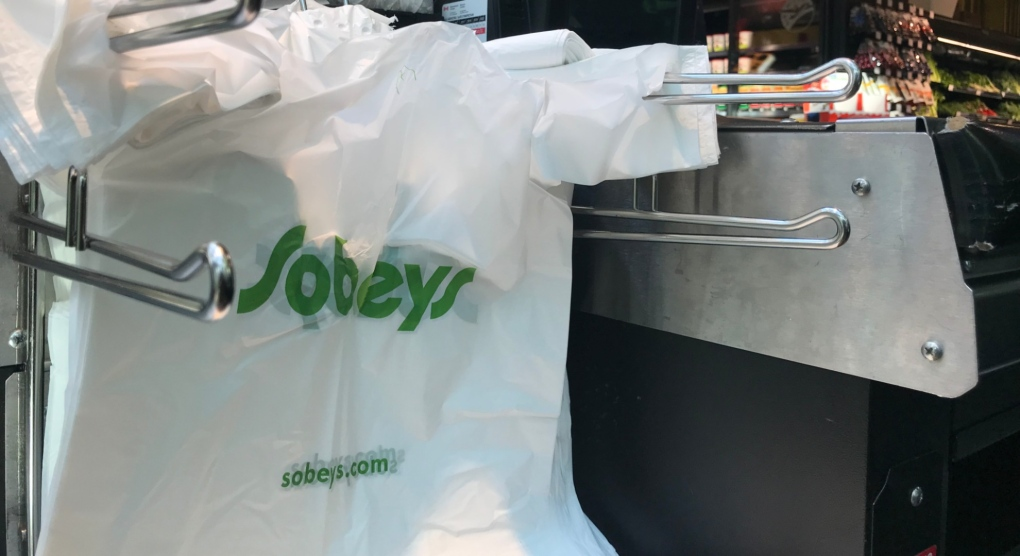 Sobeys removing plastic bags from all stores by February 2020 | CTV